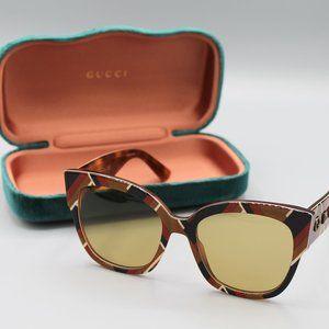 Gucci authentic sunglasses 55mm brand new